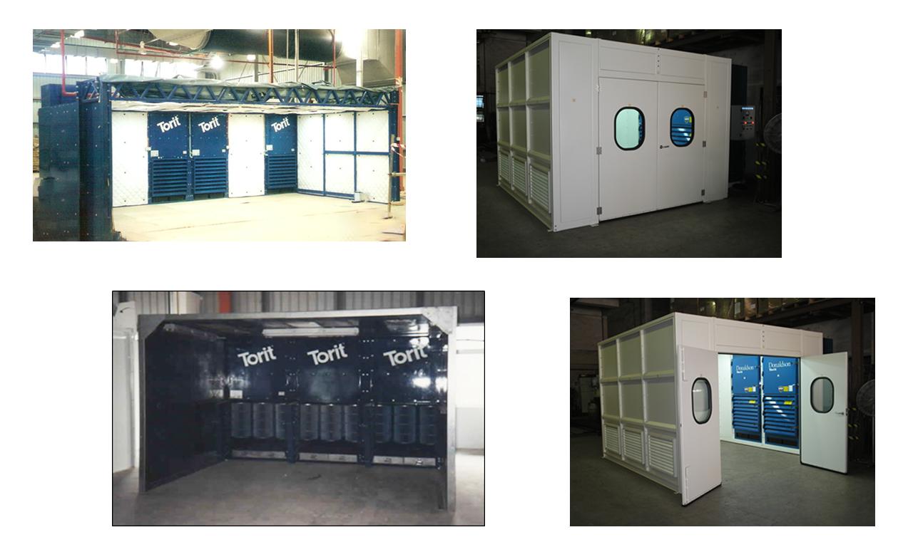 Environmental Control Booth